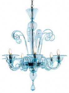 AquaMurinoGlassChandlier