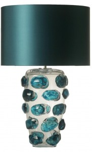 BlueGlassLampInstyle-Decor