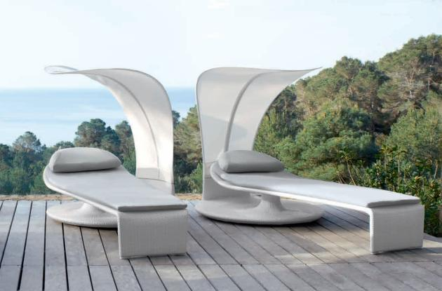10 modern furniture designs for your deck yvette for Lettini da terrazzo